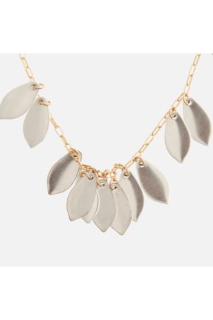 Isabel Marant Women Necklaces - Women's Leaf Charm Necklace
