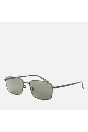 Dunhill Men Sunglasses - Men's Metal Frame Rectangle Sunglasses