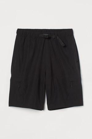 H&M Men Shorts - Belted Cargo Shorts