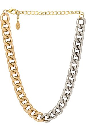 8 Other Reasons Benni Chain Necklace in Metallic .