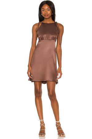 LPA Carlita Dress in Chocolate.