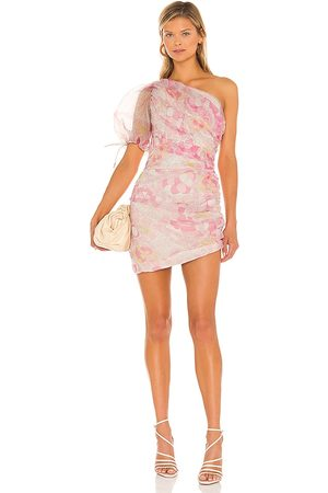 Amanda Uprichard Manuela Dress in Pink.