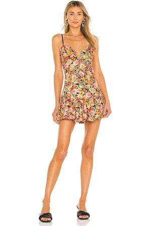 For Love & Lemons Sylvie Mini Dress in .