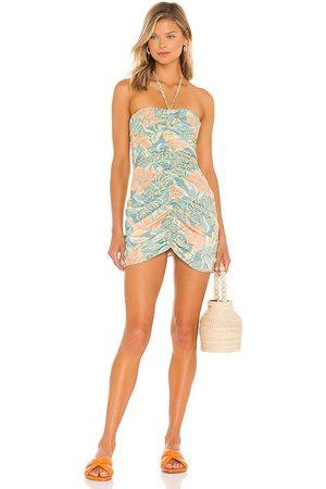 Jen's Pirate Booty Aloha Hana Mini Dress in Sage.