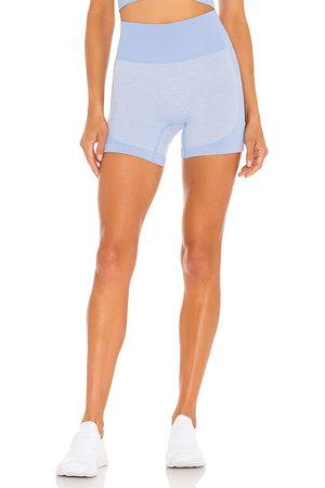Koral Belen Seamless Shorts in Blue.