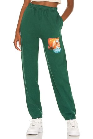 Boys Lie Jumping to Conclusions Sweatpants in Green.