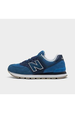 New Balance Men's 574 Rugged Casual Shoes Size 8.0 Suede