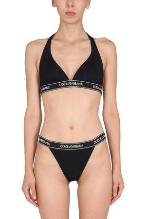 Dolce & Gabbana Costume bikini con banda logata