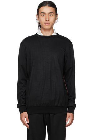 Paul Smith Black Signature Stripe Sweatshirt
