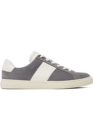 Paul Smith Grey Suede Hansen Low Sneakers