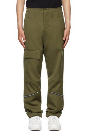 424 FAIRFAX Khaki Virgin Wool Cargo Pants