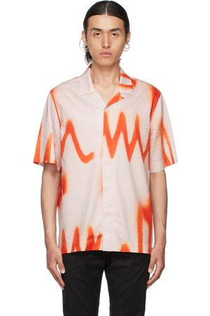 Paul Smith Orange & Pink Spray Short Sleeve Shirt