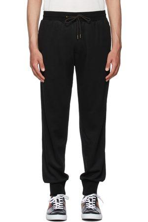 Paul Smith Black Wool Artist Stripe Lounge Pants