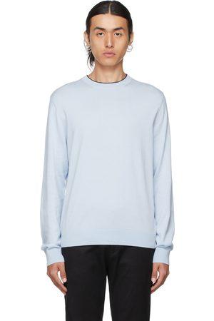 Paul Smith Blue Jersey Sweatshirt