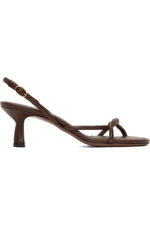 Neous Brown Tiaki 55 Heeled Sandals