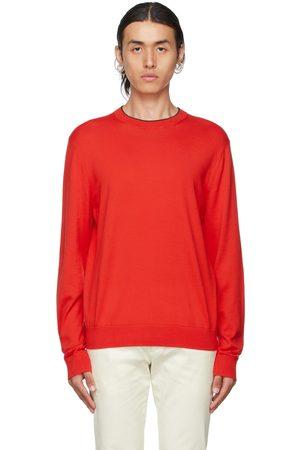 Paul Smith Red Jersey Sweatshirt