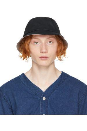 Paul Smith Black 'PS' Bucket Hat