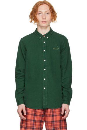 Paul Smith Green Denim Happy Shirt