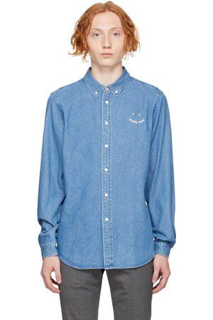Paul Smith Blue Denim Happy Shirt