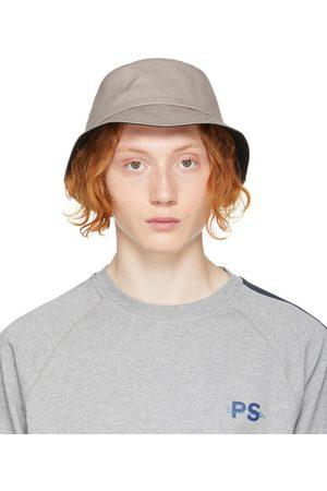 Paul Smith Grey 'PS' Bucket Hat