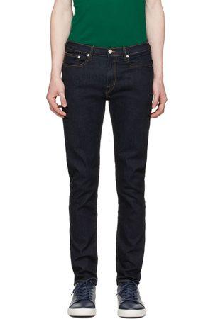 Paul Smith Navy Organic Reflex Slim-Fit Jeans