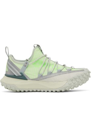 Nike Off-White & Green ACG Mountain Fly Low Sneakers