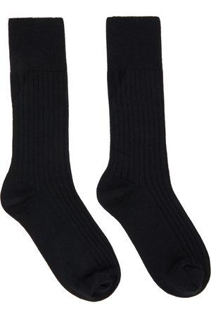 Bottega Veneta Black Cashmere Socks