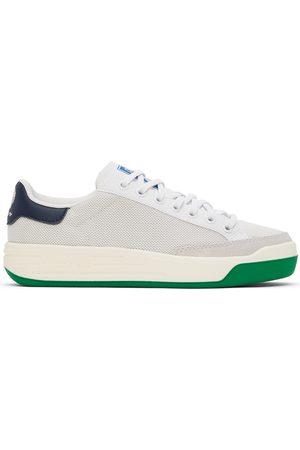 Noah NYC Grey & White adidas Originals Edition Rod Laver Sneakers