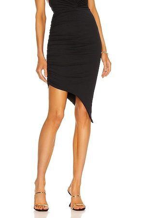 ALEXANDRE VAUTHIER Women Pencil Skirts - Ruched Pencil Skirt in Navy