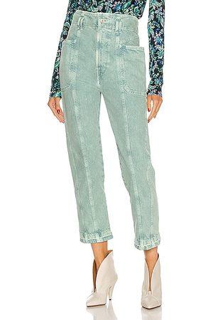 Isabel Marant Women Straight Leg Pants - Tucson Pant in