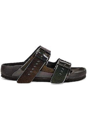 Rick Owens X Birkenstock Arizona Sandal in Black
