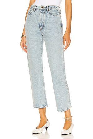 Khaite Women Jeans - Abigail Jean in Blue