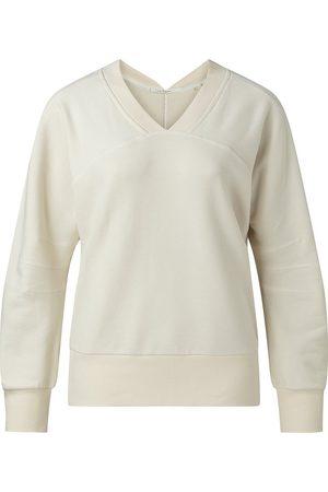 YaYa Bleached Sand V Neck Sweater