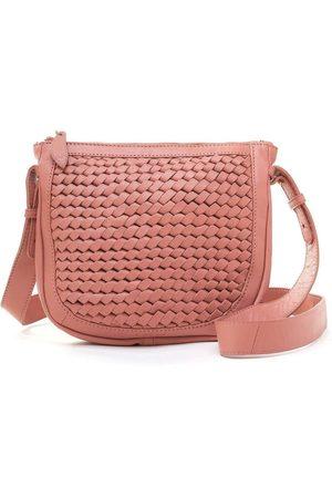 Bell & Fox Women Clutches - Caro Weave Crossbody/clutch Bag-Terracotta