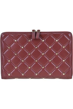 AVENUE 67 Women Tablets Cases - Quilted leather documents and tablet holder