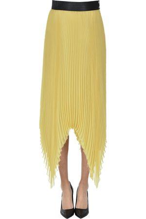 Loewe Pleated midi skirt