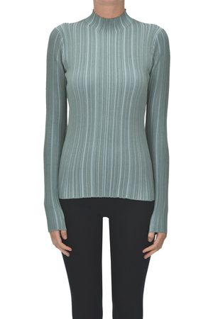 Acne Studios Ribbed knit turtleneck pullover