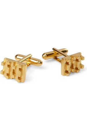 Jewel Tree London Men Cufflinks - Hive Lego Cufflinks