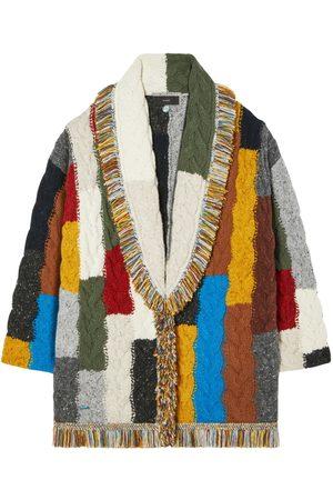 Alanui Tierra Del Fuego Cables Wool Cardigan