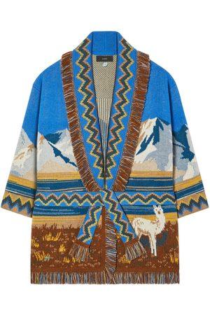 Alanui Las Lagunas Wool Blend Cardigan