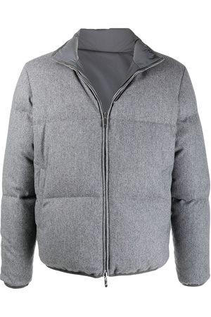 Thom Browne Men Puffer Jackets - Reversible padded jacket - Grey