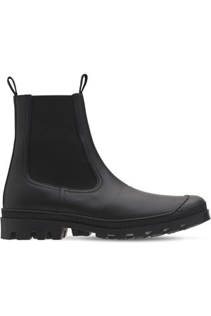LOEWE Leather Chelsea Boots