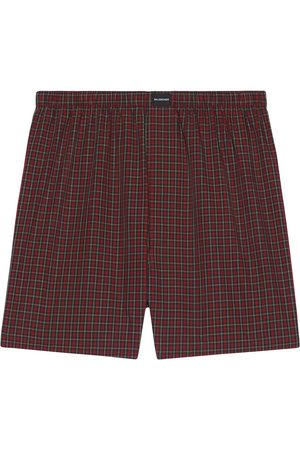 Balenciaga Micro tartan-print boxer shorts