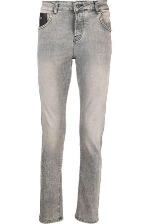 John Richmond Men Skinny - Button-fly skinny jeans - Grey