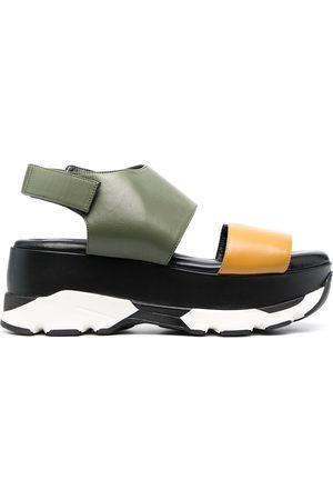 Marni Multicoloured chunky sandals