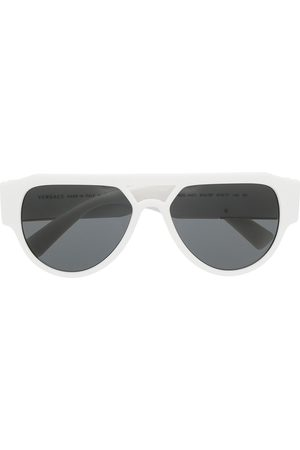 VERSACE Men Aviators - Medusa Head aviator-frame sunglasses