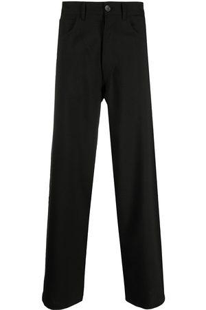 Marni Men Wide Leg Pants - High-waist wide-leg trousers