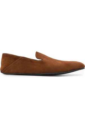 Magnanni Men Slippers - Almond-toe suede slippers