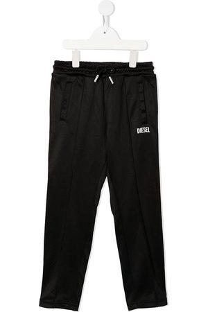 Diesel Kids Boys Sweatpants - Logo-print drawstring track pants