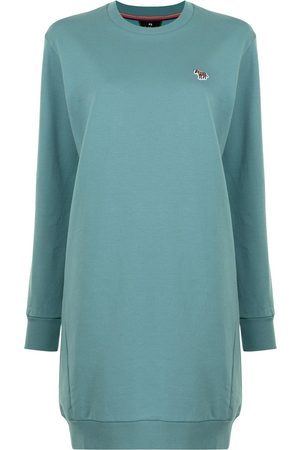 PS Paul Smith Logo-embroidered sweatshirt dress